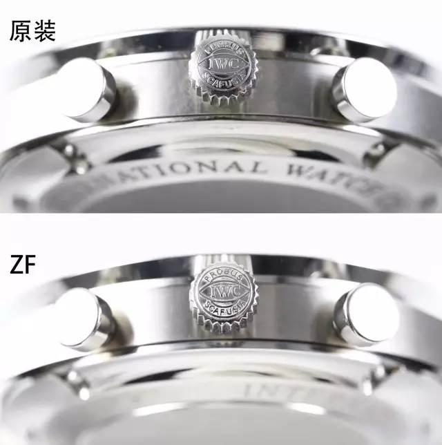 ZF厂万国葡计V2版本对比V1升级了什么地方-与正品对比又是如何