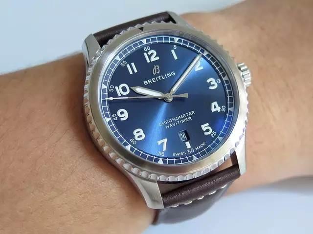 ZF厂百年灵航空计时系列8腕表A1731410评测——对比正品如何?
