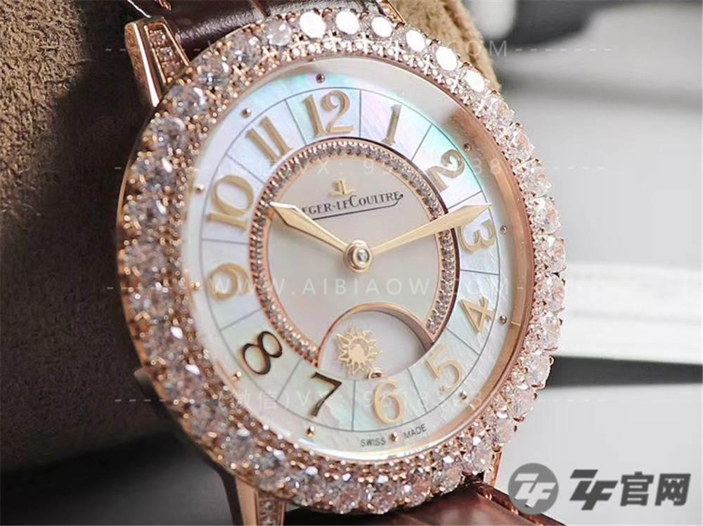 ZF厂积家约会Q3433570/Q3432570日夜显示珠宝复刻表评测