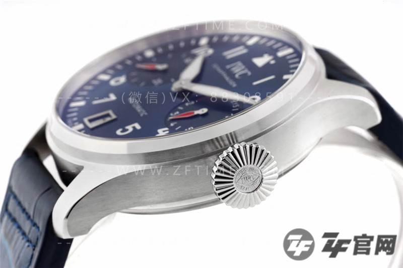 ZF厂万国BIG PILOT大飞行员系列IW501008腕表详细评测