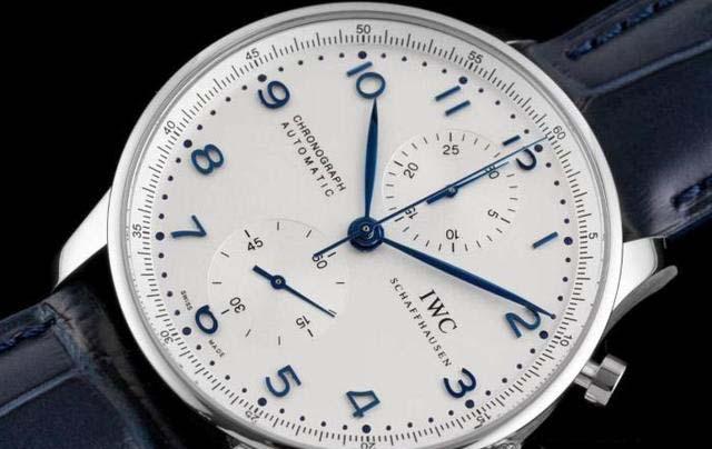 ZF万国葡计白盘蓝针款V2终极版腕表评测